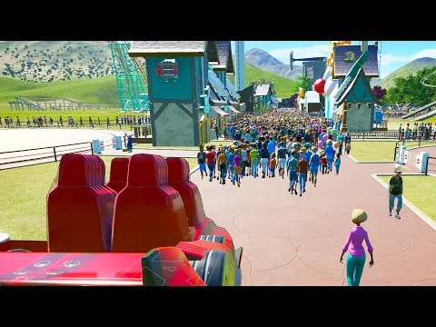 30,000 People Attempted To Stop A Roller Coaster - Planet Coaster