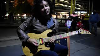Fear of the dark - Damian Salazar - Iron Maiden Guitar Cover - ON THE STREET видео