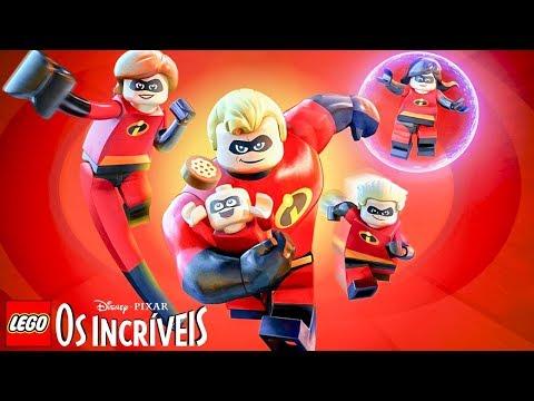 LEGO Os Incríveis TODAS AS CENAS DO JOGO Dublado em Português