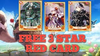 LAPLACE M || HOW TO GET 3 STAR RED CARD FREE|| CARA DAPETIN RED CARD BINTANG 3 GRATIS