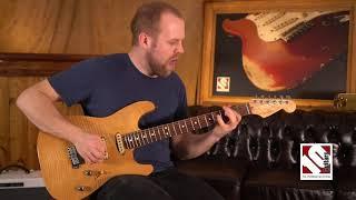 1996 Fender Stratocaster Carved Top Custom Shop   Guitar Demo