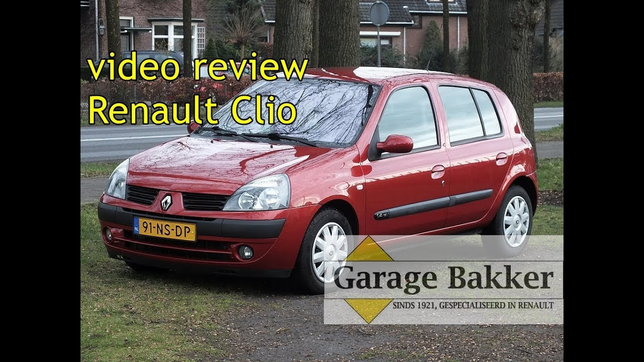video review renault clio 1 4 16v automaat privil ge 2004