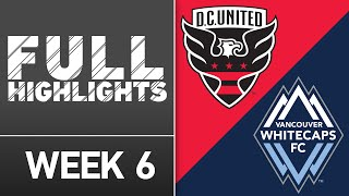 HIGHLIGHTS: DC United vs. Vancouver Whitecaps | April 9, 2016