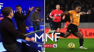 Jamie Carragher & Conor Coady recreate Adama Traore's goal vs Spurs using VR!