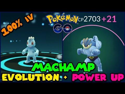 Machop max CP for all levels - Pokemon Go