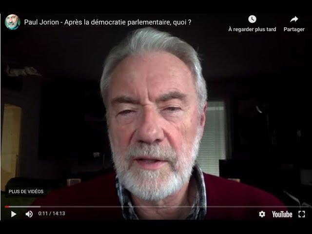 Après la démocratie parlementaire, quoi ?