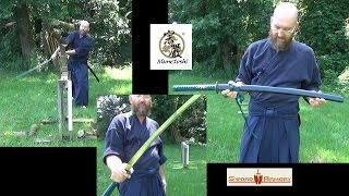 Munetoshi 1055 Katana - Review and Test Cutting