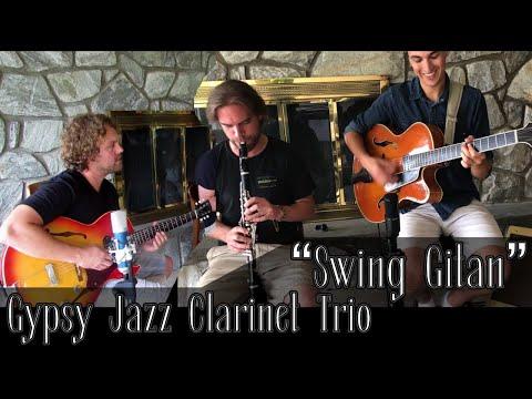 """GYPSY JAZZ TRIO - """"Swing Gitan"""""""