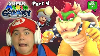 BOWSER BOSS in Mario Galaxy & IMPOSTER Toad with  HobbyGaming