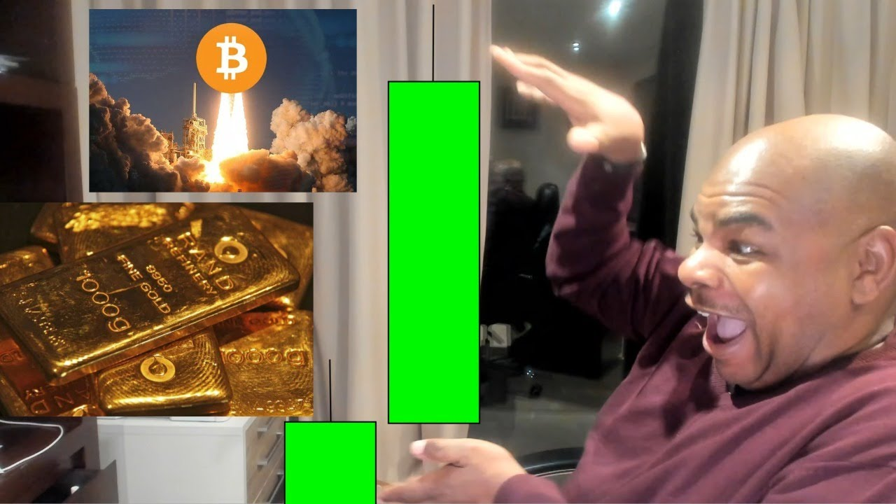 WOW!! GOLD IS EXPLODING!!!!!!!!! Here is what's next for Bitcoin!