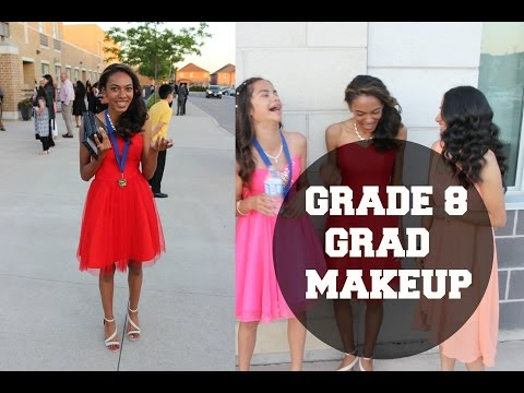 Grade 8 Graduation Makeup (TUTORIAL)
