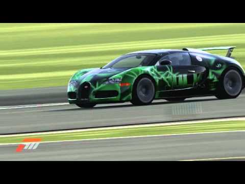 forza 4 bugatti veyron 1 mile drag on the top gear test track watch for help with forza car. Black Bedroom Furniture Sets. Home Design Ideas