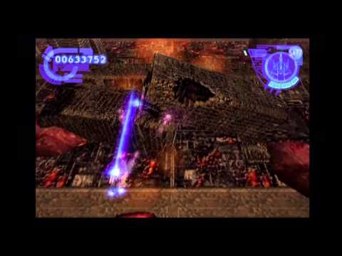 """Ps2 Silpheed - 版のみ「SILPHEED THE LOST PLANET」""""playing till death"""" o_O (YPbPr)"""