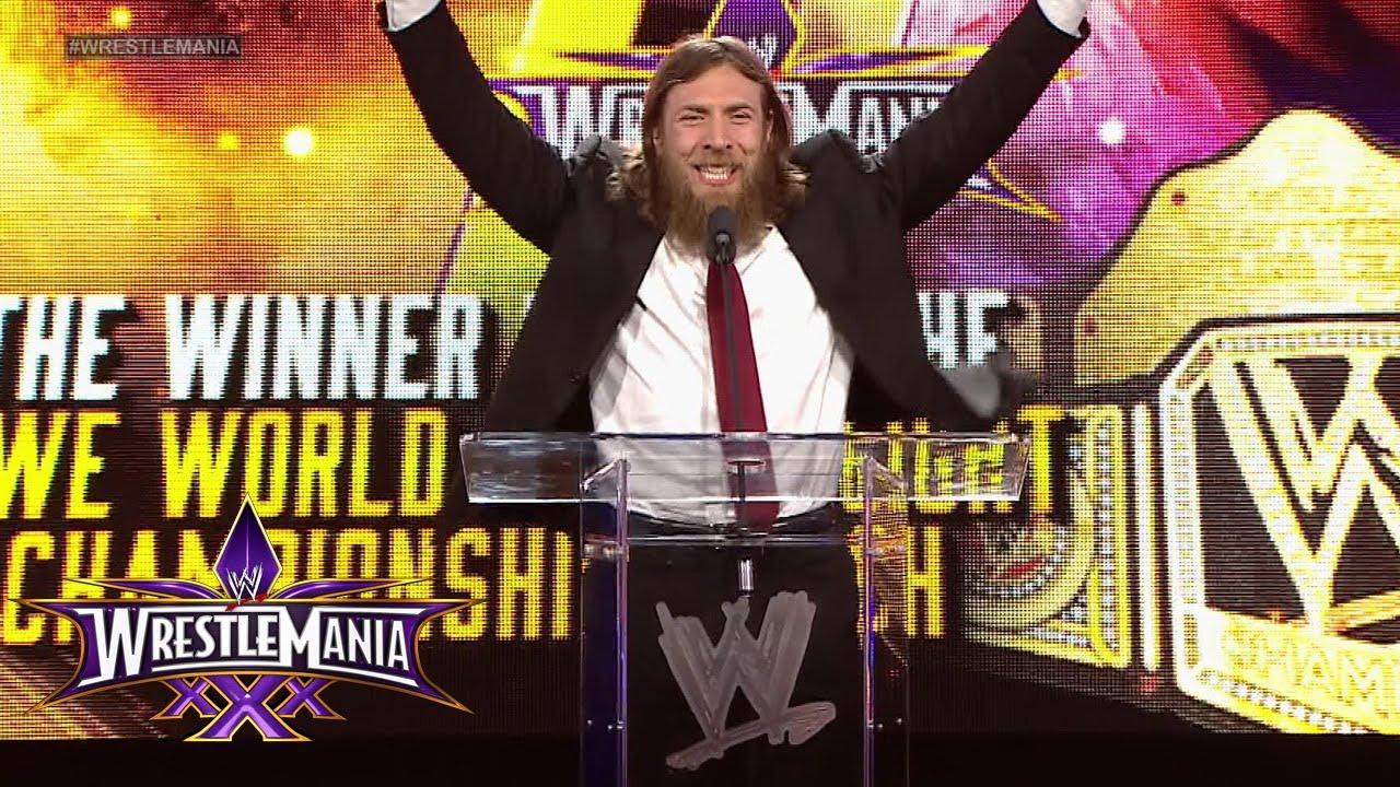 Daniel Bryan is living his dream: WrestleMania 30 Press ...Daniel Bryan Wrestlemania 30 Wallpaper