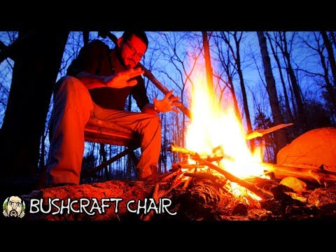 Making A Bushcraft Camp: Camp Chair (Part 5)