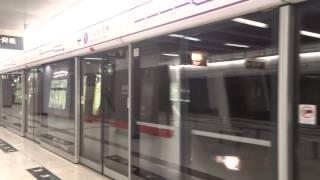 {康城360}港鐵觀塘綫 C-Train (A387-A388) 不載客駛入/離將軍澳綫康城站一號月台(頭尾拍攝)