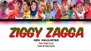 Zigi Zaga|GEN HALILINTAR, lirik!! 😻