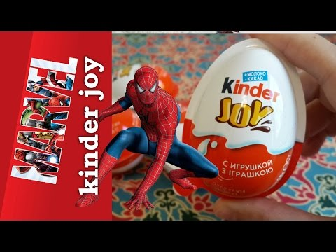 Киндер джой Марвел 2017 Новинка! Kinder joy Marvel 2017 superhero