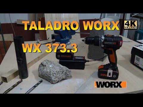 Taladro percutor WORX WX 373.3
