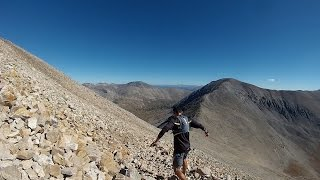 Sage Canaday: Technical downhill Mountain-Trail Running Clip