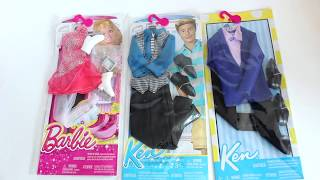 Примерка и обзор фирменной одежды для Барби и Кена
