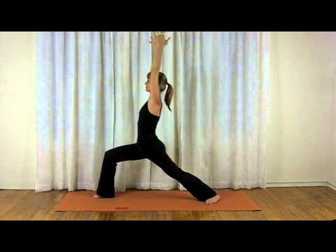 Basic Yoga | Warrior I | Virabhadrasana I