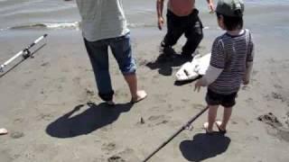 Rio Vista Fishing, Sandy Beach Park, Sturgeon Part 2, Sacramento river, California