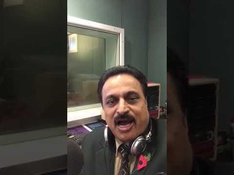 Ravi Sharma, Radio Presenter, London