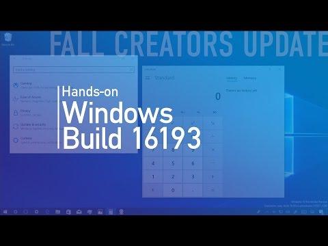 Windows 10 build 16193: Hands-on with Fluent Design, Cortana, Story Remix, Edge PDF, more