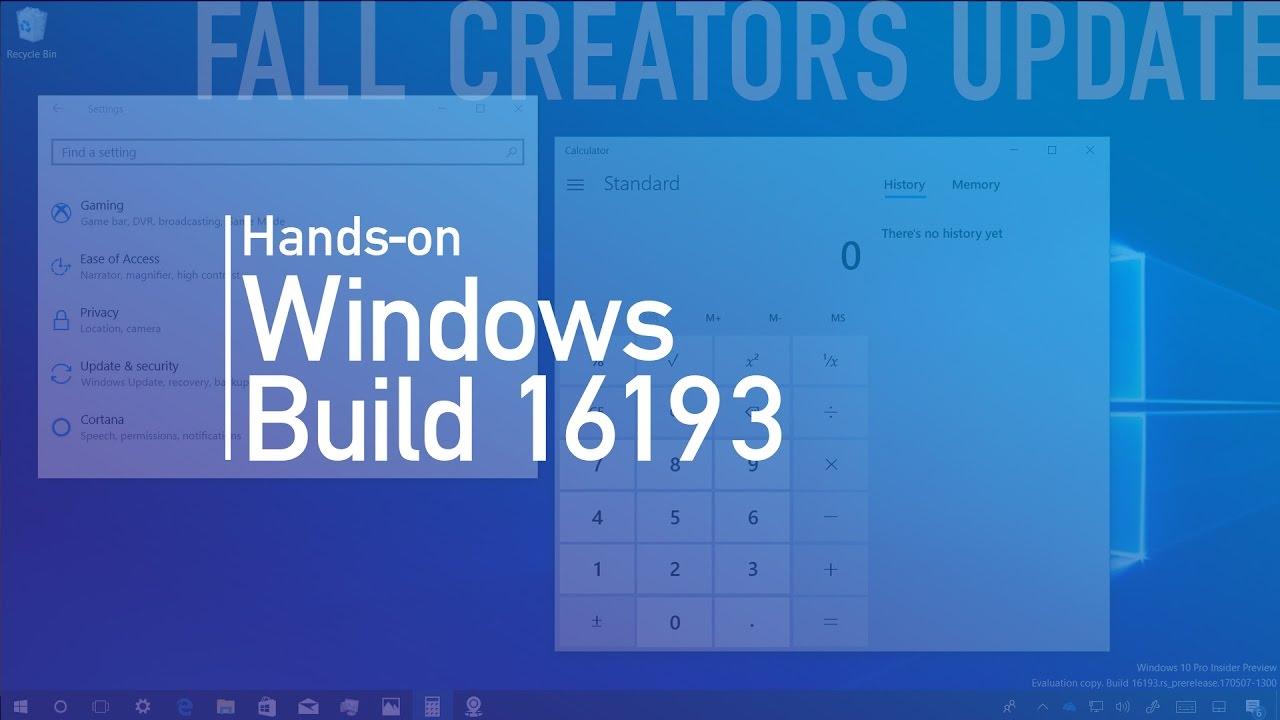 Windows Story Remix Build