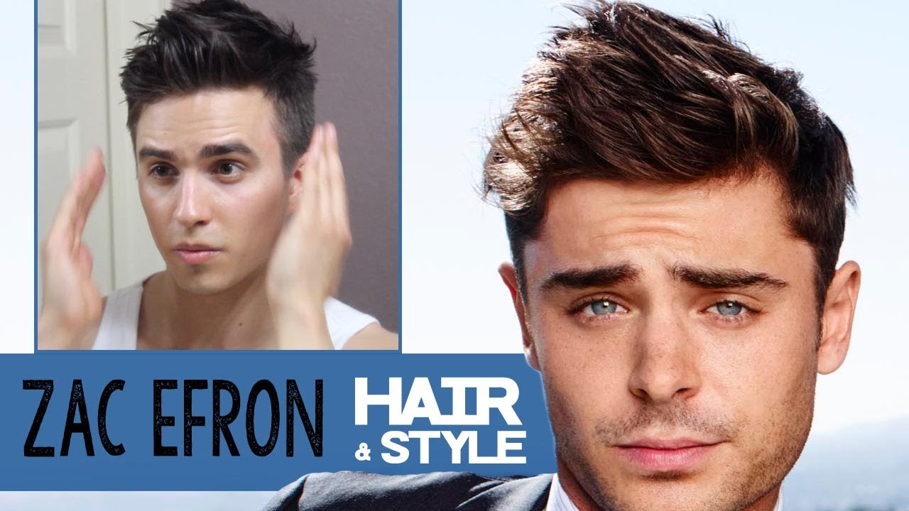 Zac Efron Hairstyle 2014 How To Dress Dre Drexler Youtube