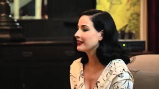 Exclusive Dita Von Teese Interview