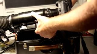 Canon EOS 7D mit einem Photosniper FS-3 montiert TAIR-3-PhS Linse