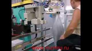видео мешкозашивочная машина