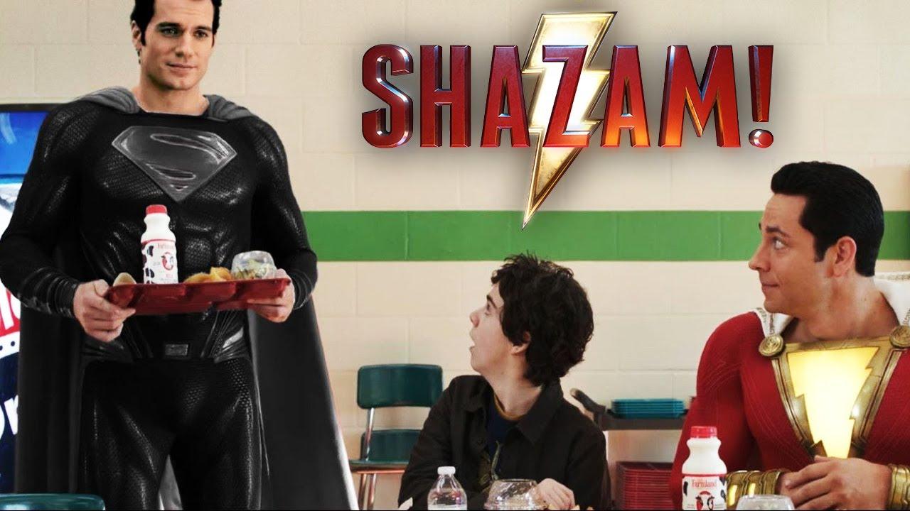 Download SUPERMAN NEGRO Aparece En SHAZAM || ESCENA FINAL Latino