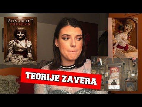 Teorije zavera - prava prica iza lutke Annabelle!!