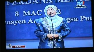 Fathiah Ibrahim - Keluarga Bahagia , Masyarakat Sejahtera (Pidato Peringkat Antarabangsa)