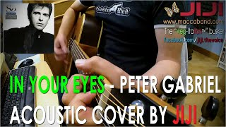Peter Gabriel - In Your Eyes | Acoustic cover by Jiji, the Veg-Italian busker