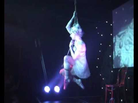 Bondage ballet performance by Maleficent Martini & Esinem at Torture Garden, Act I