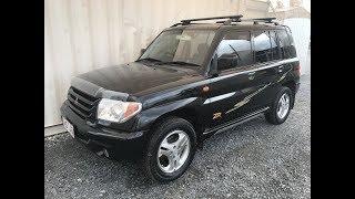 (Продано)чорний 4х4 Міцубісі Паджеро ИО позашляховик механічна 2003 коментар