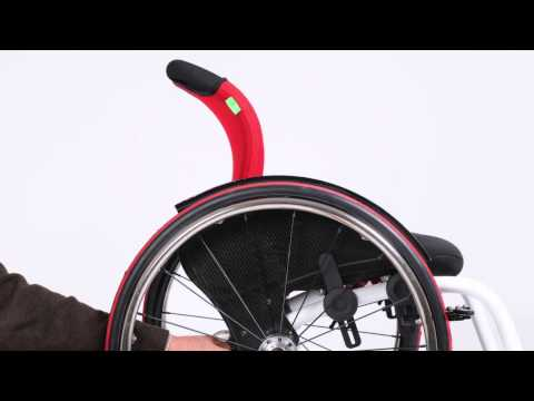 O4 WheelChairs - RCA Seat-System Balansinstelling