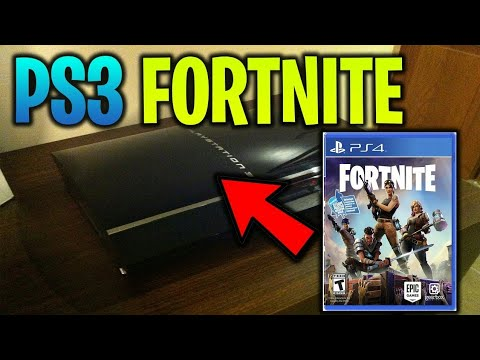 Fortnite Download On Ps3 😱 (2019 New Update *No Clickbait*)