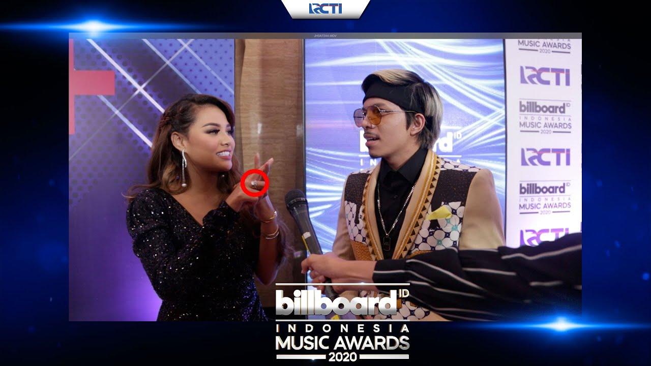 TATAPAN AUREL PENUH ARTI UNTUK ATTA! - TEMAN APA CINTA? - BILLBOARD INDONESIA MUSIC AWARDS 2020 MyTu