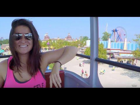 My Beautiful Woman at Cedar Point 2015 GoPro Hero 4 Silver