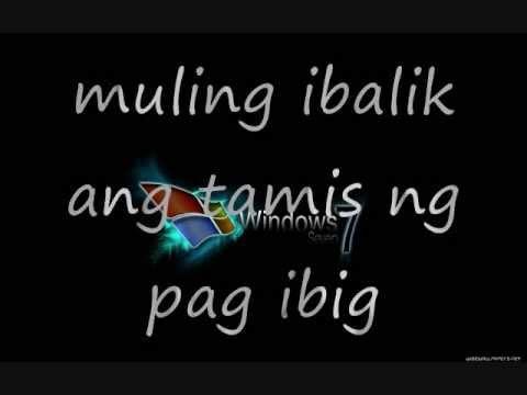 muling ibalik (lyrics)