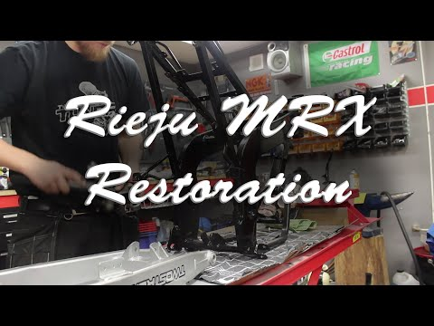 Restoration of a Rieju MRX - By Rexxy