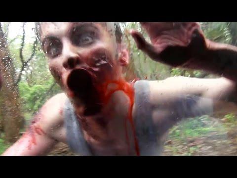 """Policía Encuentra a un """"Zombie"""" Devorando el Rostro de un Hombre"""