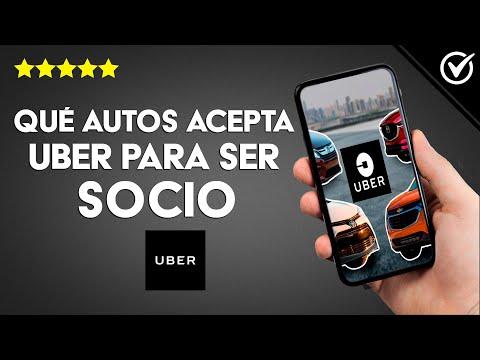 Qué Autos Acepta Uber para Trabajar como Conductor o Socio y los Requisitos