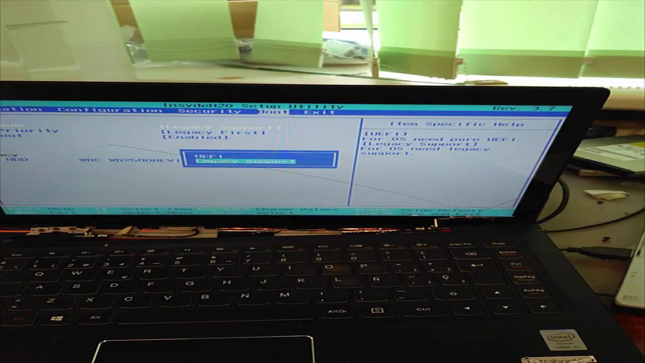 How to enter BIOS setup in Lenovo IdeaPad u330 ?