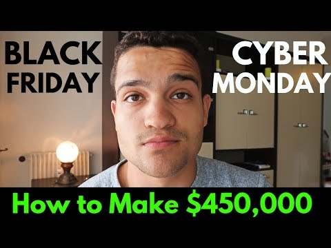 $450,000+ Dropshipping On Black Friday & Cyber Monday Weekend (Shopify Dropshipping Tutorial 2019) thumbnail